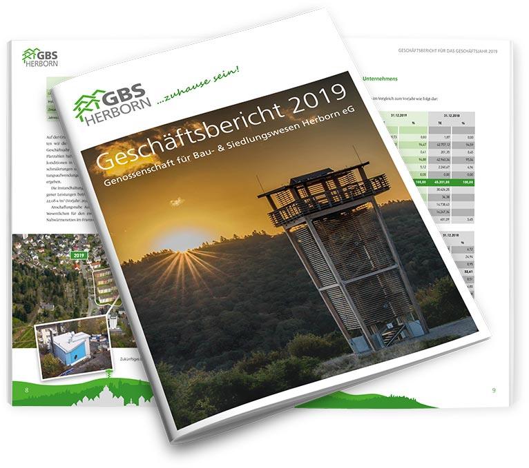 Der Geschäftsbericht für 2019 der GBS Herborn