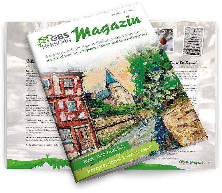 Das GBS-Magazin 2020 - hier als PDF herunterladen